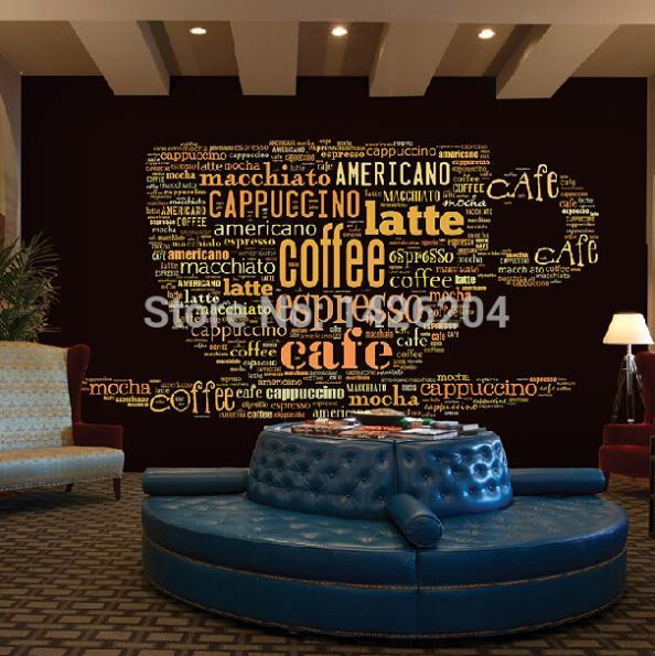 Popular coffee shop themes buy cheap coffee shop themes for Coffee shop mural