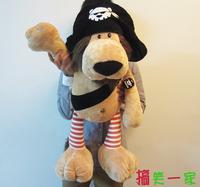 large 80cm pirate lion plush toy, birthday gift b9991