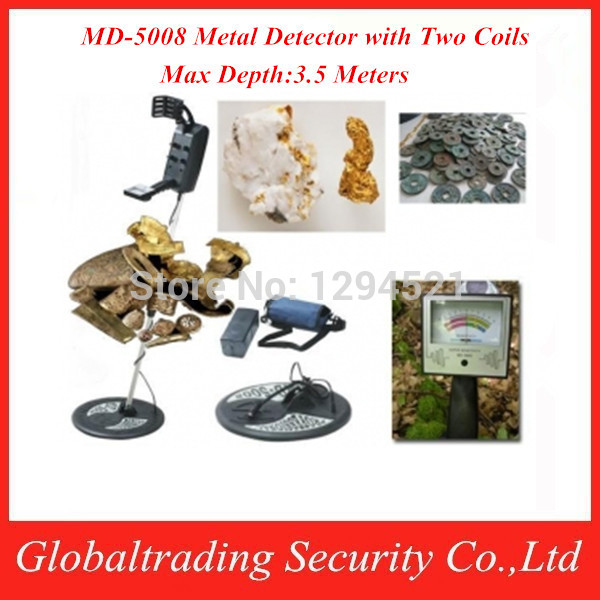 Промышленный детектор металла Hot Selling MD-5008 gold finder & , md/5008 , Max 3,5 New Arrival MD5008 metal detector