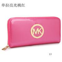 hot sell 2014 new Brand michaelled bag purse zipper women wallets designer purse women korss  clutch leather wallet