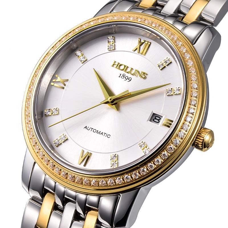 Rose Gold Watch Cheap Watch Full Steel Rose Gold
