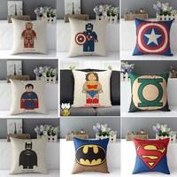 Super man thick fluid pillow kaozhen cushion sofa car