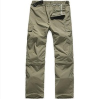 Sweatpants waterproof and breathable outdoor climbing tour hiking pants detachable quick-drying pants men softshell pant