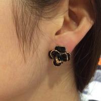 Exquisite handmade flower earrings Rhinestone Earrings Brincos flower Dangle Drop Tassel Earrings