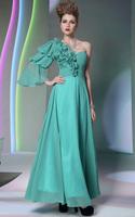 CJ0193 New Style In Stock Vestido De Fiesta 2015 Under $100 Elegant Long Formal Dresses Handmade Flower Floor Length Prom Dress