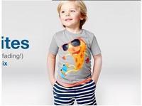 Retail 2015 new arrive cotton baby boys summer set  t shirt+ stripe pants cloth set boy clothing suit children clothing set