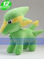 "pokemon pikachu movie 12""  Electrike Rakurai  dolls stuffed plush toy new Christmas Birthday kids Gift  free shipping"