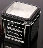 Original Brand  Boamigo Metal Watch Box Gift Box Drop shipping