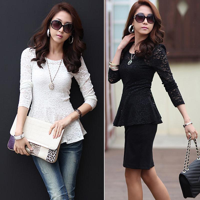 Женские блузки и Рубашки Oem Blusa lace blouses женские блузки и рубашки romantic beach blusa femininas2015 sh022