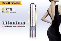 Klarus MiX7 Mini AA Flashlight CREE XP-G2 1A LED 180lms Titanium Torch