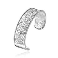 925 Sterling Silver jewelry pulseiras femininas bracelet bangle women Inlaid stone vintage silver jewelry B220 free shipping