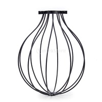 New 2015 Edison Vintage Balloon Design Pendant Light Chandelier Cage Hanging Lampshade Free Shipping