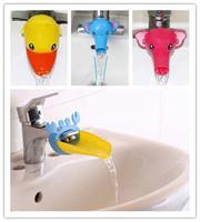 1Pcs Cartoon Children Guiding Gutter Faucet Extender For Helps Kids Hand Washing Faucet Accessories Bathroom Sink Gift EJ871579