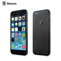 with exclusive dust plug design!Original BASEUS Simple Series Back Cover Case For iPhone 6