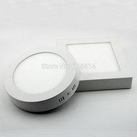 [Seven Neon]free shipping round shape AC90-265V 6W/12W/18W warm white/white LED panel light,LED down light ,led ceiling light