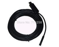 7mm USB Inspection Borescope Endoscope Snake Scope 6pcs LED 10m Tube Micro Camera Mini Cameras