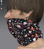 custom headband bandana elastic