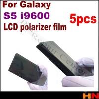 5pcs LCD Polarizer Film Polarization Polaroid Polarized Light Film for Samsung S5 i9600 G900 replacement