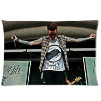 Memphis May Fire bring me the horizon Oliver Sykes Pillowcase Pillow Case Cover 20x30(two Sides)