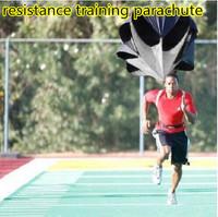 Free Shipping Speed Training Resistance Parachute Running Chute Speed Chute Running Umbrella with Storage bag