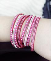 New Fashion 6 Layer Leather Bracelet! Factory Discount Prices, Charm Bracelet