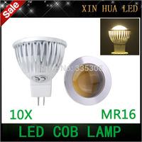 10pcs MR16 GU10  Base 9W 12W 15W 12V COB Dimmable LED Spot light bulb LED Enegy saving lamp White/Warm White LED Lighting