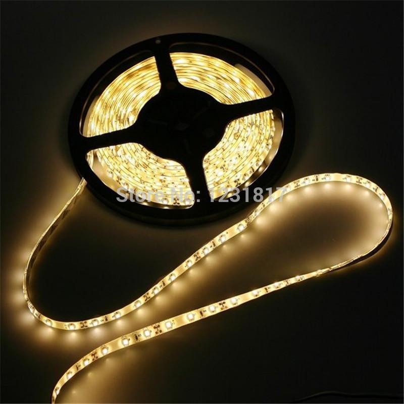 LED White Color Strip 5050 SMD 12V Flexible Light 60LED/m,5m 300LED install free play store christmas lights rgb garland leds de(China (Mainland))