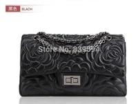 2014 new fashion handbags Messenger bag sheepskin leather shoulder bag