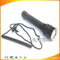 High Power 4000 Lumen 30W 3X CREE XML T6 LED Diving Flashlight Torch Waterproof 100m Depth Underwater Diver LED Flash Ligh