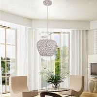 modern best-selling LED Square k9 crystal Apple Chandeliers Crystal/Al AC85-260V crystal Apple  lighting