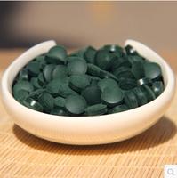 500g/lot Anti-fatigue Anti-radiation Enhance-immune natural Spirulina Tea Tablet Health food 2000pills Quality Approved