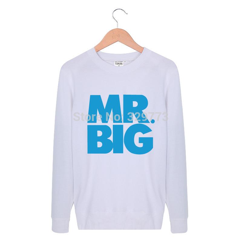 Free shipping Original Unique Design Mens mr big band world T shirts long sleeve Fashion Style Casual 5colors XS,S, M,L,XL,XXL(China (Mainland))