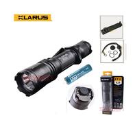 KLARUS XT11 Upgrade XM-L2 Cree LED Flashlight Tactical 820Lumens + Battery