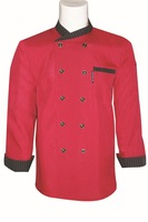 Fall/winter hotel chefs clothing long sleeve new chef clothing Workwear