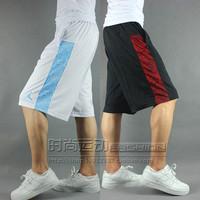 2014 air big basketball shorts loose streetball basketball knee-length pants man