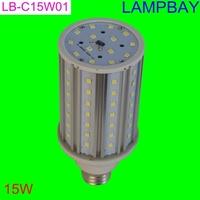 LED bulb corn light 15W E27 aluminum  high quality high lumens  360 degree warm white natural white  cold white