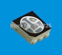 free shipping 5050 rgb led chip high brightness(red 400-500mcd/green 1000-1200mcd/blue 400-500mcd)