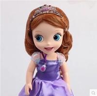 30cm Sofia princess doll toy Sofia princesa  girls Puppe boneca poupee bambola bebe juguetes muneca jouets brinquedos