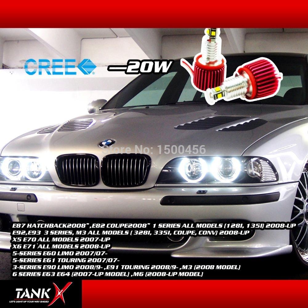 Неоновые кольца Angel Eyes Tankx 2 XBD 20W E92 Canbus 4LED 6000K 1400lm E60/E61/E70/E71/E87/E90/E91