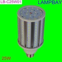 Aluminum corn light 25W 360 degree E27 B22 bulb high quality high lumens warm white natural white cold white two years waranty