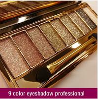 9 colors diamond bright colorful eye shadow eyeshadow super flash ( sombra de ojos / fard a paupieres ) Glitter eyeshadow
