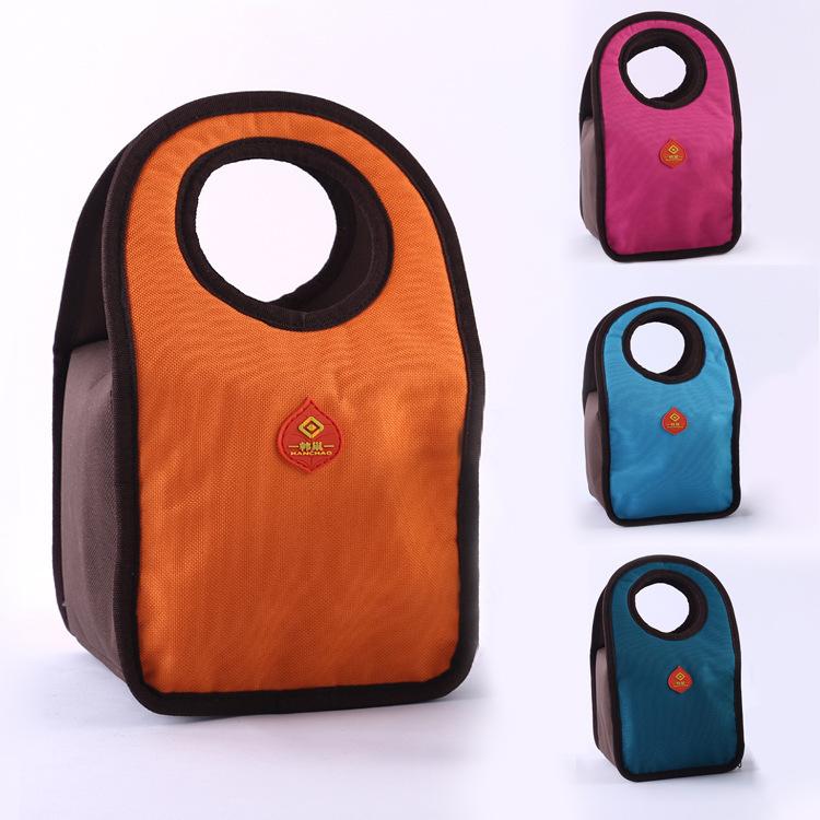 Hot ! Oxford cloth.thermal lunchbox lancheira bolsa de franja thermal bag bolsa termica lunch bags Fast Food Box Handy Keep Warm(China (Mainland))