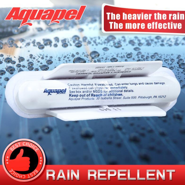 USA - 1x AQUAPEL Windshield Glass Water Rain Repellent TREATMENT APPLICATIONS Repels AQUAPEL applicator AQUAPEL glass treatment(China (Mainland))