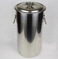 tea water barrels 25x40 ice barrels bubble tea commercial buckets with cover lid