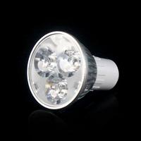 Free shipping High power CREE Led Lamp Dimmable GU5.3 3W 85-265V Led spot Light Spotlight led bulb downlight lighting