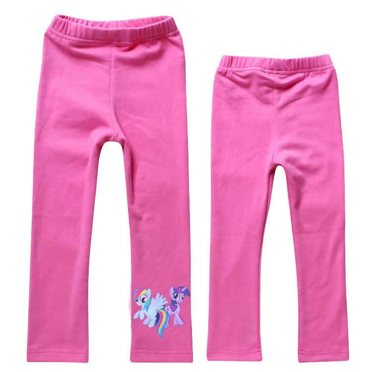 Free Shipping New 2014 Baby Girls Leggings My little pony Kids Pants 3-10Year Girl Leggings Pants One Piece Retail Free Shipping(China (Mainland))