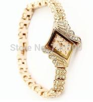 King Girl /Hot blast, Europe , high-grade ladies, female brand, diamond-encrusted rose gold bracelet watch,10 pcs/lot