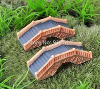 mini morld Stone arch bridge ZAKKA 3D simulation resin doll Mosses Micro Landscape Bonsai Aquarium Decoration DIY material