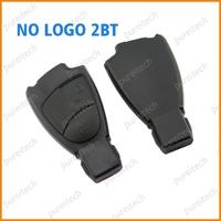 20pieces/lot plastic black 66mm 2 button no logo car remote key case fob
