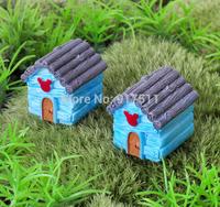 mini morld small house ZAKKA 3D simulation kawaii resin doll Mosses Micro Landscape Bonsai Aquarium Decoration DIY material